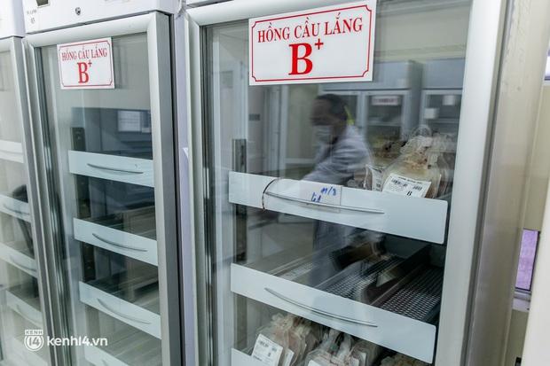Bên trong kho máu đang cạn kiệt của Trung tâm Truyền máu BV Chợ Rẫy: Chúng ta có thể chờ dịch bệnh qua đi nhưng người bệnh không thể chờ máu! - Ảnh 10.