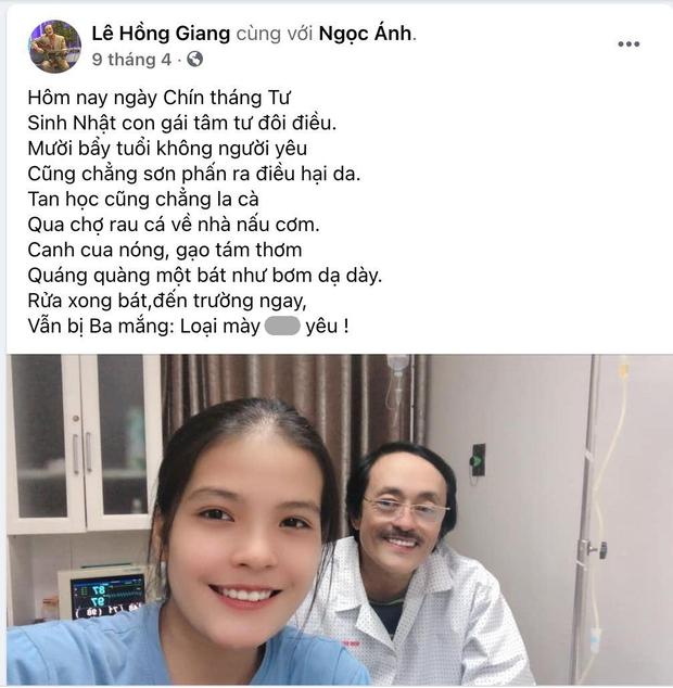 Loạt ảnh của NS Giang Còi và con gái 2k4 ở bệnh viện: Luôn rạng rỡ bất chấp bệnh tật, càng nhìn càng xót xa - Ảnh 4.