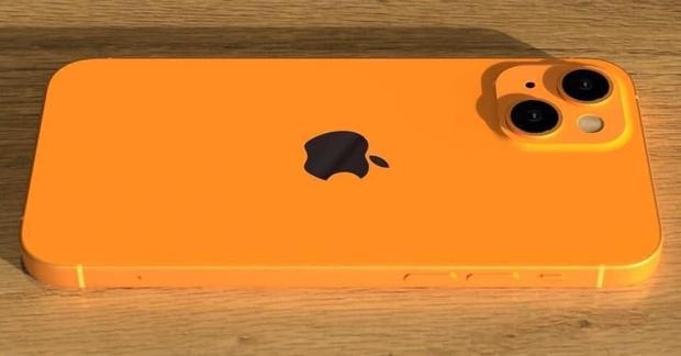 Lộ diện concept iPhone 13 màu cam đẹp mê mẩn, không chói loá mà cực bắt mắt - Ảnh 1.