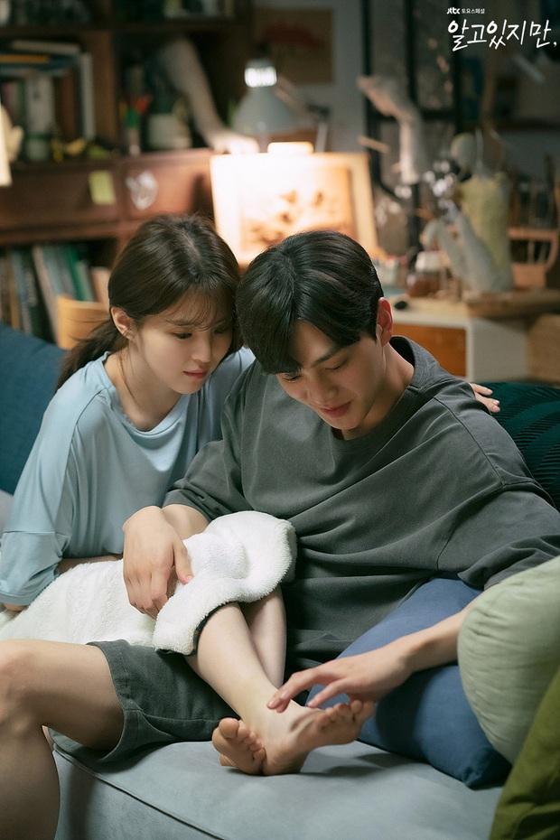 Netizen chê bai Nevertheless ngày càng nhàm chán, không nhờ visual của Han So Hee - Song Kang chắc bỏ phim lâu rồi! - Ảnh 1.