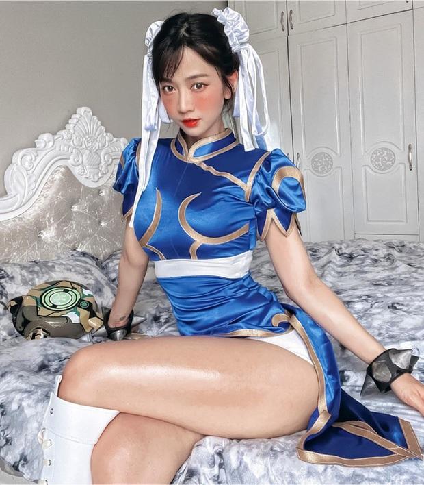 Mỹ nữ cosplay tướng game: Nóng bỏng, quyến rũ, gấp nhiều lần bản gốc! - Ảnh 1.