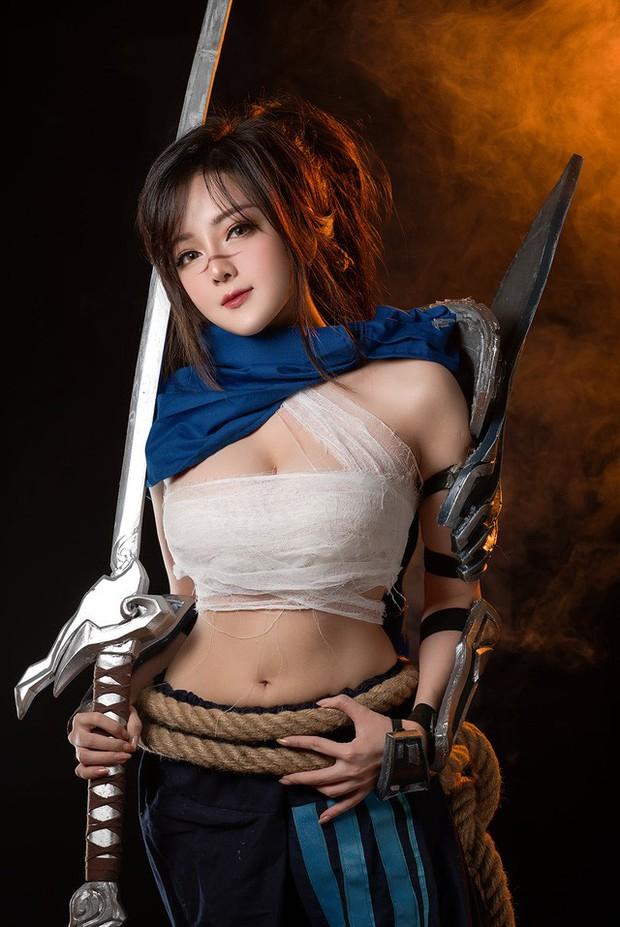 Mỹ nữ cosplay tướng game: Nóng bỏng, quyến rũ, gấp nhiều lần bản gốc! - Ảnh 5.