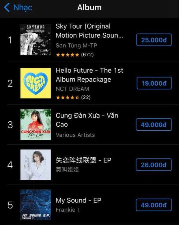 Album của Sơn Tùng bất ngờ xuất hiện ở vị trí cực cao tại iTunes thị trường hơn 1 tỉ dân, vượt cả Adele đến fan cũng ngơ ngác! - Ảnh 3.