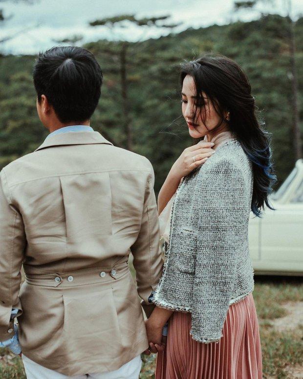 Ngồi nhà rảnh phu nhân TGĐ Phan Thành tranh thủ xả ảnh cưới ở Đà Lạt, hột xoàn to đùng vẫn giật spotlight - Ảnh 2.