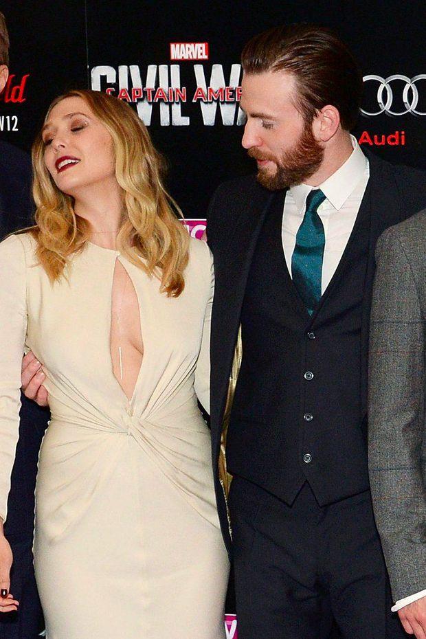 Có 1 mỹ nhân Avengers sexy hơn cả Góa Phụ Đen, vòng 1 khủng đến nỗi Đội Trưởng Mỹ Chris Evans phải dán mắt soi trên thảm đỏ - Ảnh 7.