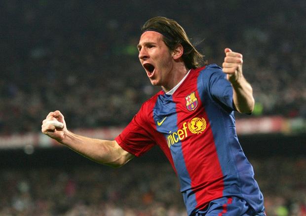 Toàn bộ sự nghiệp vĩ đại của Messi tại Barcelona qua ảnh - Ảnh 9.