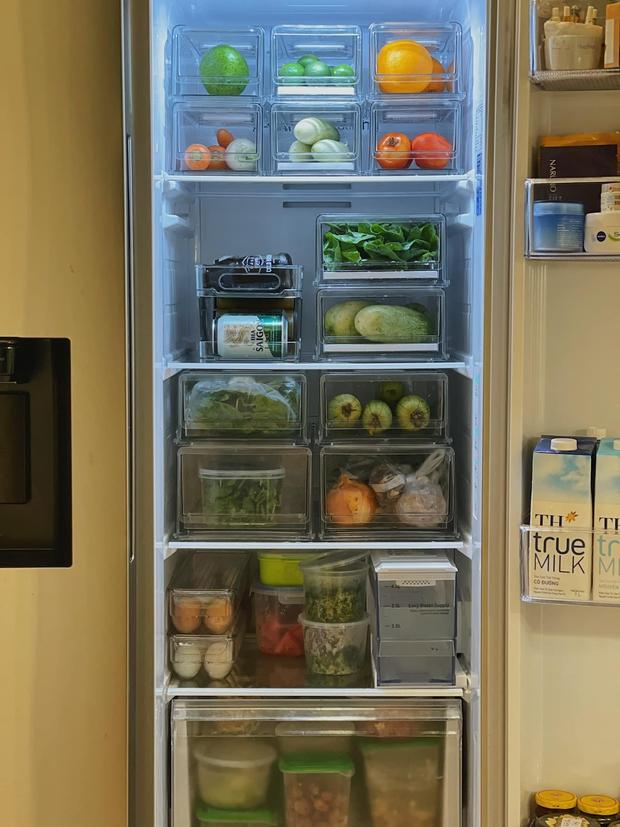 Tiếp tục tới công chuyện với những chiếc tủ lạnh sang - xịn - mịn trong mùa dịch: Vừa ngăn nắp lại còn healthy, 10 điểm về chỗ! - Ảnh 3.