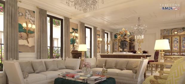 Thái Công chê cái ghế, cái đèn và nội thất khách sạn đắt đỏ ở New York không xịn như villa mình thiết kế - Ảnh 6.