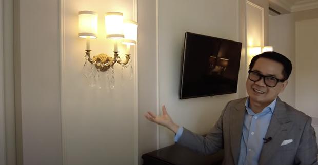 Thái Công chê cái ghế, cái đèn và nội thất khách sạn đắt đỏ ở New York không xịn như villa mình thiết kế - Ảnh 5.