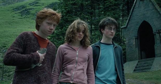 Chiếc bóng bí ẩn lấp ló ở Harry Potter sau 17 năm mới nhìn ra, nghe fan cứng suy luận mới thấy đoàn phim điên rồi? - Ảnh 1.