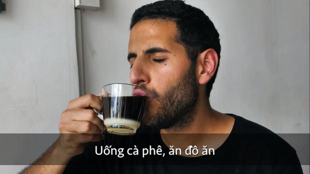 Netizen đào lại khoảnh khắc tố Nas Daily giả tạo khi làm video về Việt Nam: Uống cà phê sữa không khuấy mà cũng giả lả khen ngon? - Ảnh 4.