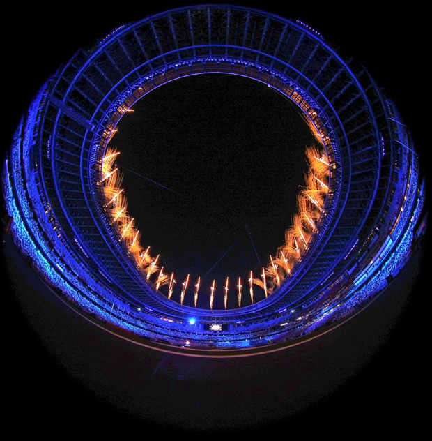 Mãn nhãn với màn pháo hoa tuyệt đẹp khép lại Olympic 2020 - Ảnh 10.