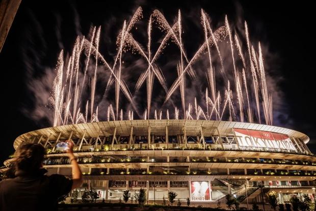 Mãn nhãn với màn pháo hoa tuyệt đẹp khép lại Olympic 2020 - Ảnh 12.