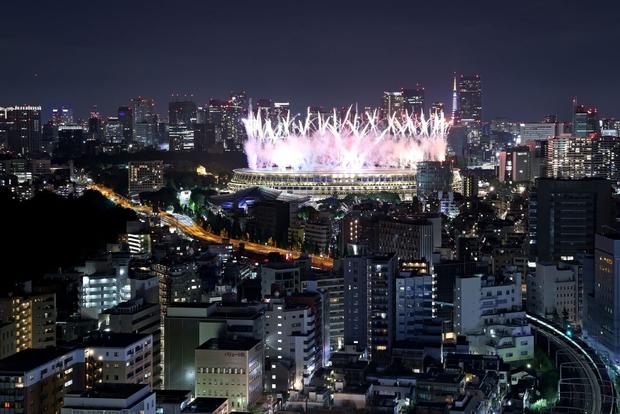 Mãn nhãn với màn pháo hoa tuyệt đẹp khép lại Olympic 2020 - Ảnh 13.