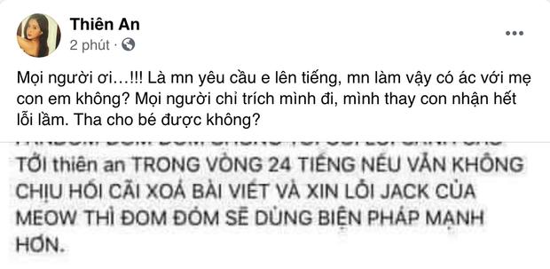 Thiên An bức xúc lên tiếng bảo vệ con gái giữa tâm bão: Tha cho bé được không? - Ảnh 2.