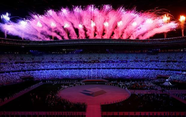 Mãn nhãn với màn pháo hoa tuyệt đẹp khép lại Olympic 2020 - Ảnh 5.