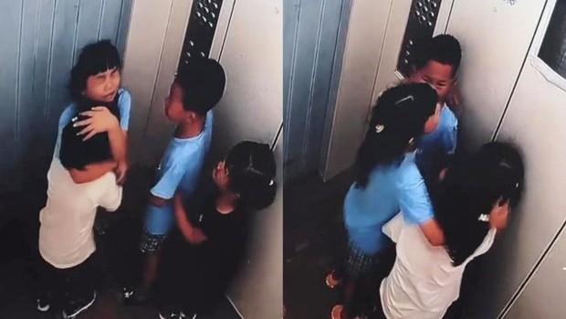 4 đứa trẻ bị mắc kẹt trong thang máy rơi tự do từ tầng 8, bé gái có hành động khiến ai cũng rào rào vỗ tay tán thưởng - Ảnh 2.