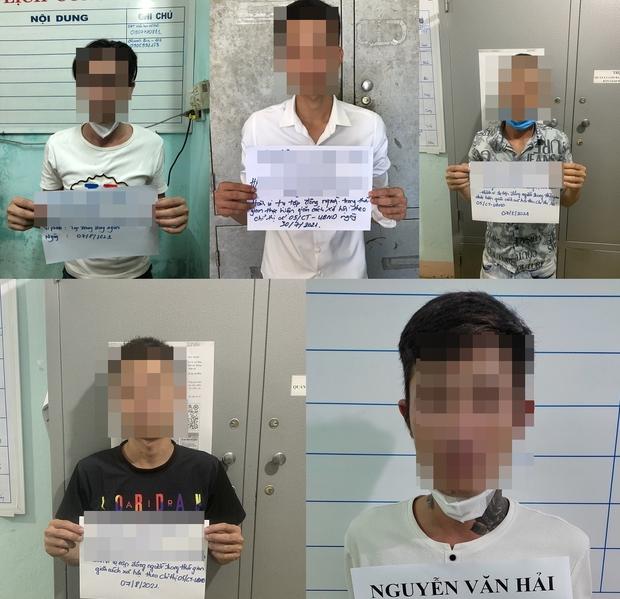 Tụ tập ăn nhậu giữa mùa dịch, nhóm thanh niên nam nữ bị phạt 105 triệu đồng - Ảnh 1.