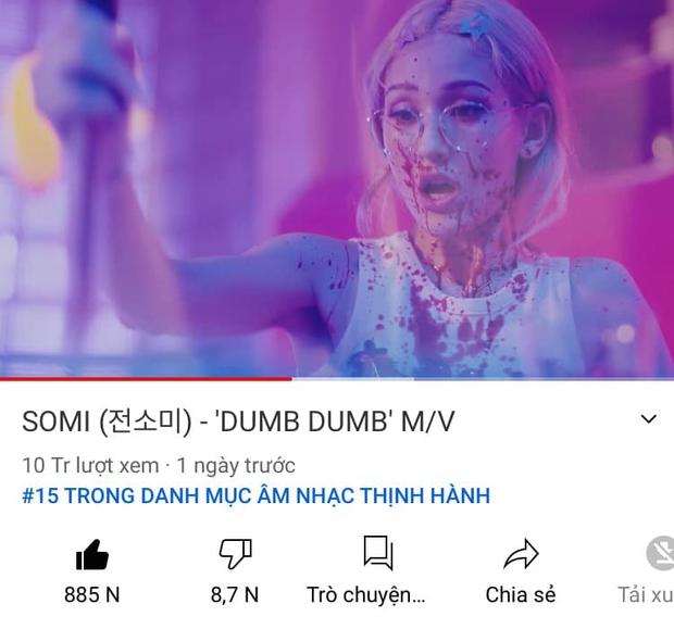 Đọ thành tích Somi - Sunmi khi comeback: View YouTube lọt top cùng IU và 2 thành viên BLACKPINK nhưng nhạc số lại là lỗ hổng? - Ảnh 3.