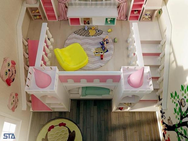 Chồng nữ đại gia xây biệt thự 400 tỷ lần đầu hé lộ không gian phòng riêng của các con: Nhà cũ mà đã như này, nhà mới còn khủng nữa! - Ảnh 4.