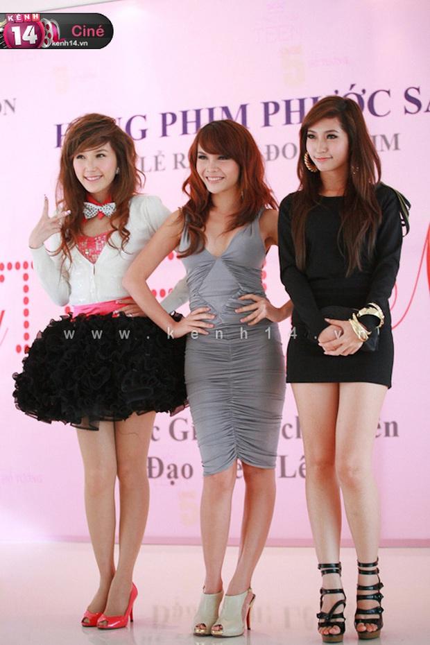 Thảm đỏ Vbiz trước công nguyên: Minh Hằng vẫn còn là Pé Heo, loạt Hoa hậu - sao nữ dính scandal vì hở quá bạo - Ảnh 6.