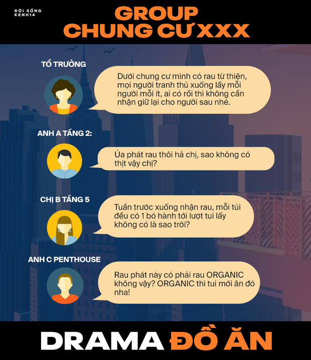 Lật tẩy bí mật bên trong nhóm chat Chung cư bằng loạt drama: Từ đổ rác, bó rau cho đến... chôm đồ đủ cả! - Ảnh 2.
