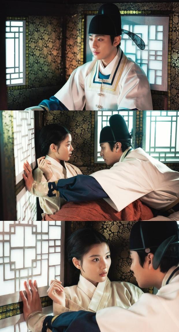 Kim Yoo Jung - Ahn Hyo Seop vừa lộ diện, rating Hong Chun Gi tăng chóng mặt, bom tấn cổ trang của năm đây rồi! - Ảnh 1.