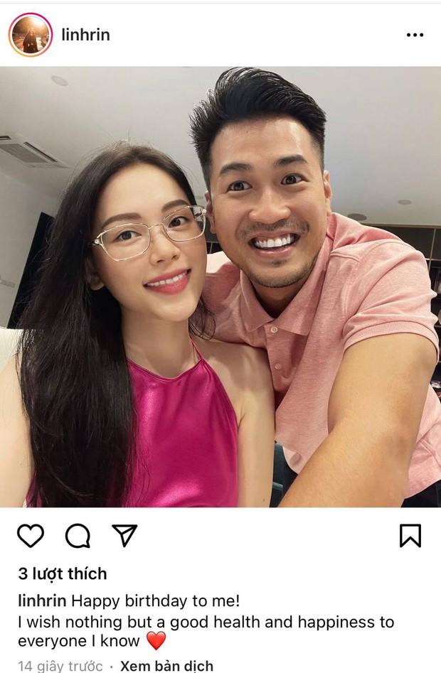 Linh Rin xinh đẹp ngọt lịm đón sinh nhật bên Phillip Nguyễn, nhìn đôi trẻ rạng rỡ quấn quít cứ như vợ chồng son - Ảnh 2.