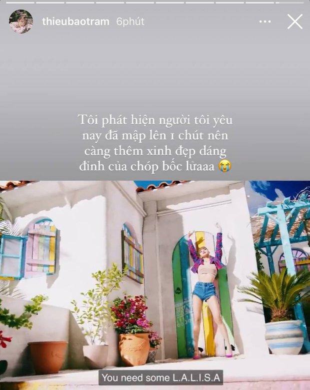Bản sao Lisa bày tỏ xin chết vì idol từ Instagram sang FB, thái độ và tốc độ xứng danh fangirl số 1 tại Việt Nam - Ảnh 5.