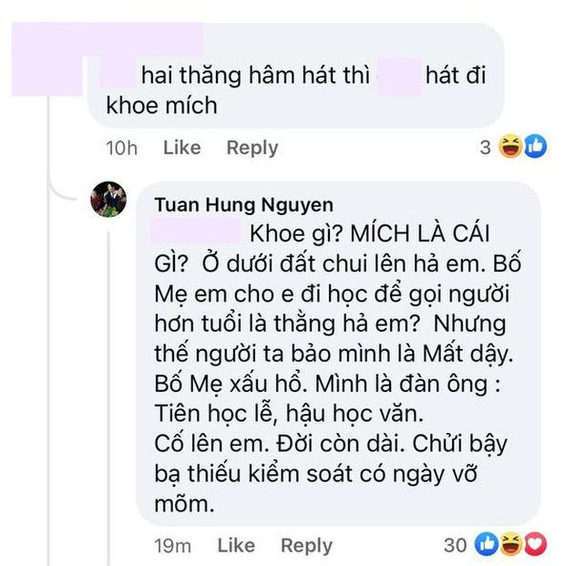 Tuấn Hưng đáp trả cực gắt khi bị netizen cà khịa livestream để khoe mic: Ở dưới đất chui lên hả em? - Ảnh 3.