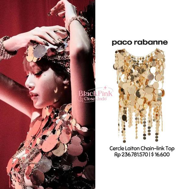 Hơn 5 tỷ đồng cho 17 outfit phục vụ lần ra mắt MV solo, Lisa lộng lẫy như bà hoàng và đẳng cấp hơn dự đoán - Ảnh 4.