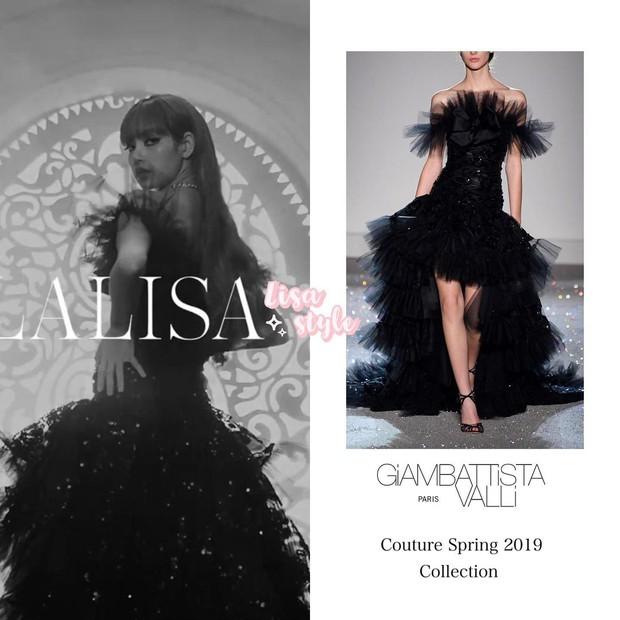 Hơn 5 tỷ đồng cho 17 outfit phục vụ lần ra mắt MV solo, Lisa lộng lẫy như bà hoàng và đẳng cấp hơn dự đoán - Ảnh 8.