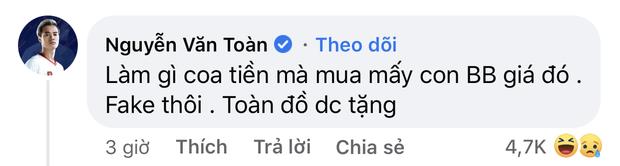 Fan bóc giá trên trời của bộ đồ chơi nhà giàu, chủ tịch Văn Toàn nói gì mà bị lại bị gọi là lươn? - Ảnh 3.