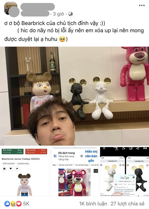 Fan bóc giá trên trời của bộ đồ chơi nhà giàu, chủ tịch Văn Toàn nói gì mà bị lại bị gọi là lươn? - Ảnh 2.