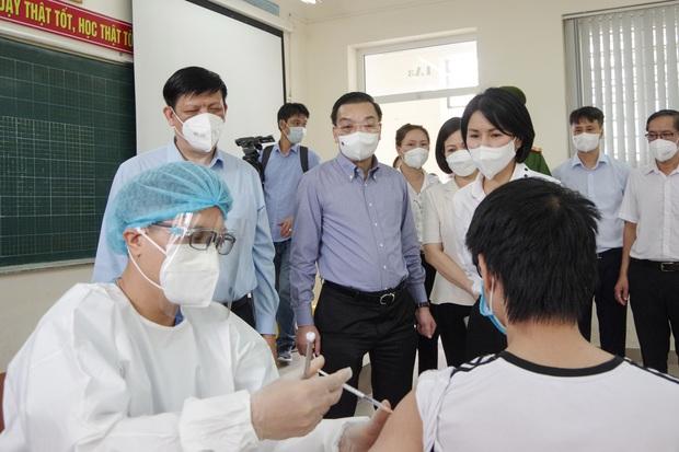 Chủ tịch Hà Nội nêu 3 mục tiêu làm cơ sở xem xét nới lỏng giãn cách xã hội - Ảnh 1.