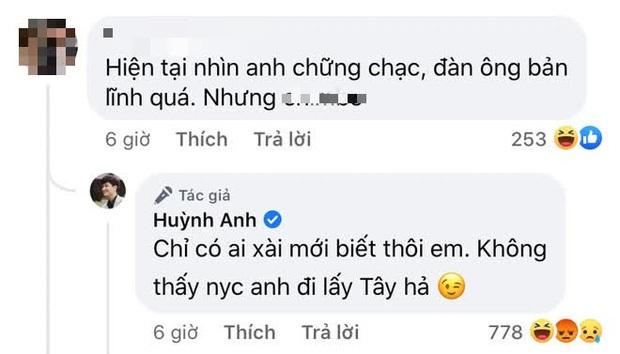 Huỳnh Anh xin lỗi Hoàng Oanh, chốt hạ lùm xùm lôi người yêu cũ vào bình luận kém duyên - Ảnh 3.