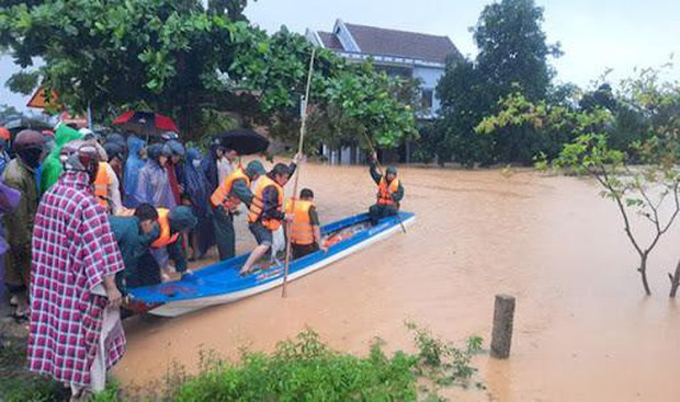 Sơ tán 4.280 ca F0 trong vùng ảnh hưởng của bão Côn Sơn đến nơi an toàn - Ảnh 1.