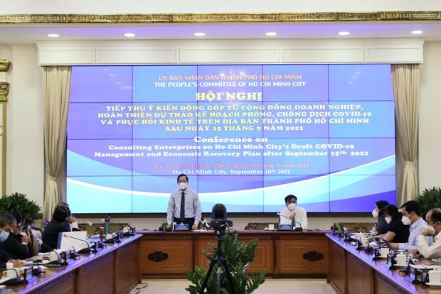 TP.HCM lên kế hoạch mở cửa tất cả các hoạt động sau 15/1/2022, chia 3 giai đoạn phục hồi kinh tế - Ảnh 1.