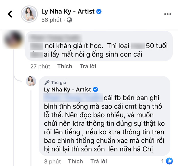 Lý Nhã Kỳ phản ứng gắt khi netizen trù ẻo không sinh được con, truy hỏi đến cùng 1 chuyện dù bị vu oan - Ảnh 3.