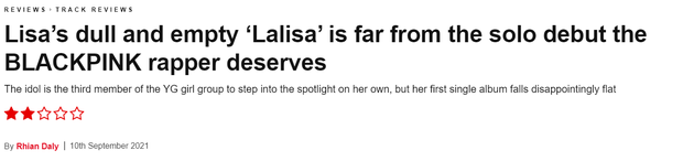 LALISA bị truyền thông Mỹ chê tơi tả, cho rằng rỗng tuếch và buồn tẻ, là cú trượt dài trong thất vọng của Lisa? - Ảnh 1.