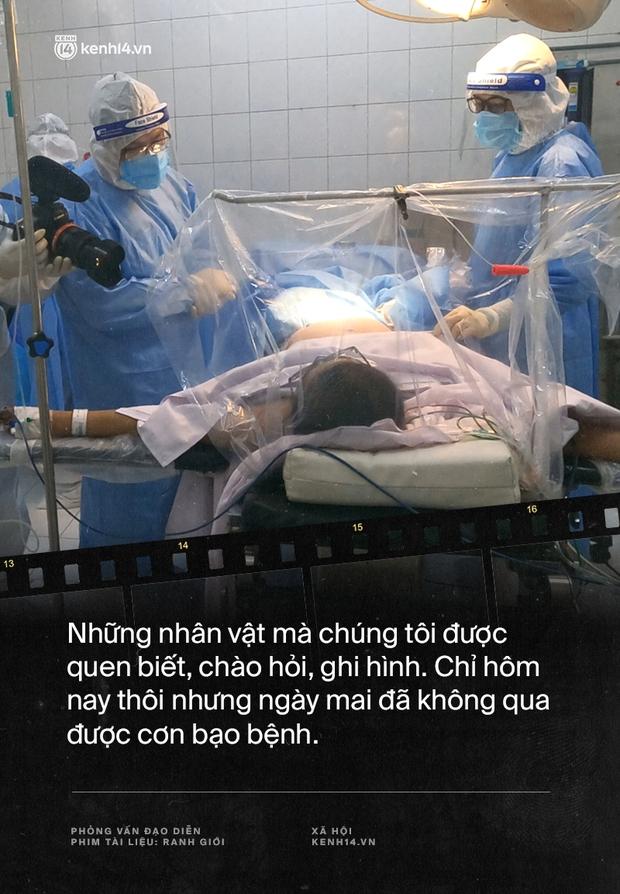 Tạ Quỳnh Tư và Ranh Giới: Nếu những bệnh nhân tôi quay mà người ta phản đối thì gia đình họ đã gọi phản ánh rồi, khán giả lại đi lo hộ người ta - Ảnh 3.