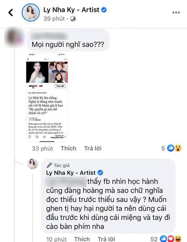 Lý Nhã Kỳ phản ứng gắt khi netizen trù ẻo không sinh được con, truy hỏi đến cùng 1 chuyện dù bị vu oan - Ảnh 2.