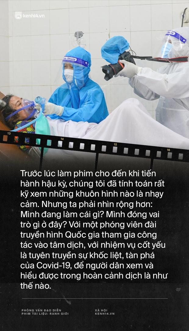 Tạ Quỳnh Tư và Ranh Giới: Nếu những bệnh nhân tôi quay mà người ta phản đối thì gia đình họ đã gọi phản ánh rồi, khán giả lại đi lo hộ người ta - Ảnh 6.