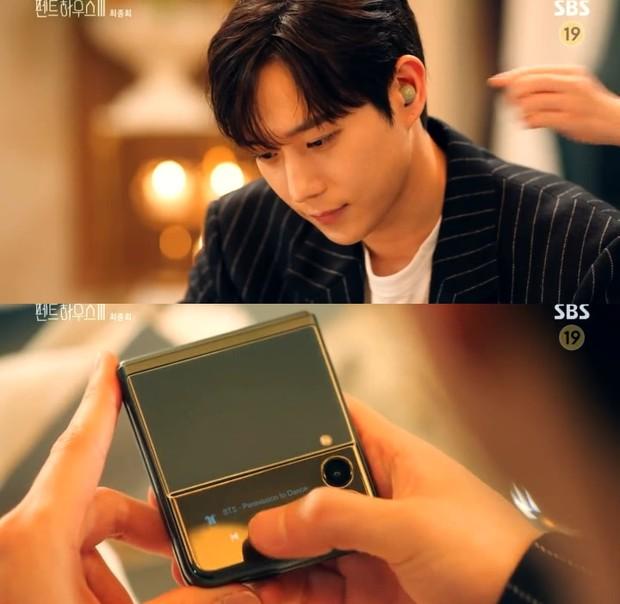 Tập cuối Penthouse 3, Seok Hoon đăng ảnh hậu trường nhưng bị soi hint khác biệt so với trong phim - Ảnh 3.