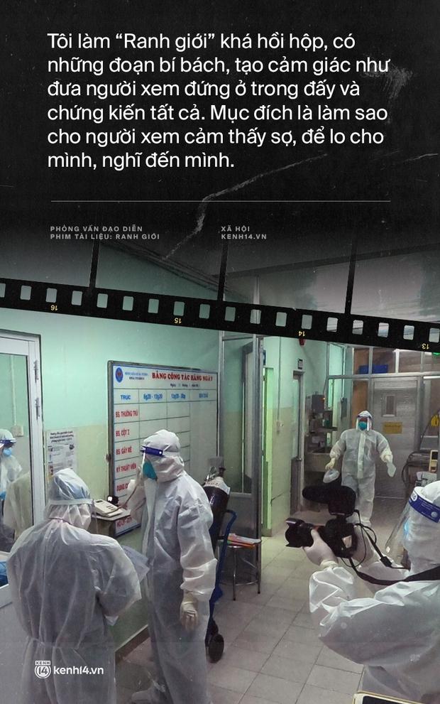Tạ Quỳnh Tư và Ranh Giới: Nếu những bệnh nhân tôi quay mà người ta phản đối thì gia đình họ đã gọi phản ánh rồi, khán giả lại đi lo hộ người ta - Ảnh 8.