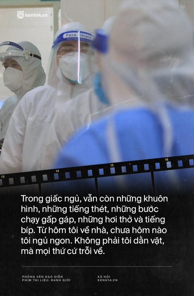 Tạ Quỳnh Tư và Ranh Giới: Nếu những bệnh nhân tôi quay mà người ta phản đối thì gia đình họ đã gọi phản ánh rồi, khán giả lại đi lo hộ người ta - Ảnh 10.