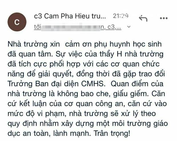 NÓNG: Thầy giáo cấp 3 tại Quảng Ninh bị tố quấy rối, nhắn tin tán tỉnh loạt nữ sinh, nhà trường chính thức lên tiếng! - Ảnh 4.