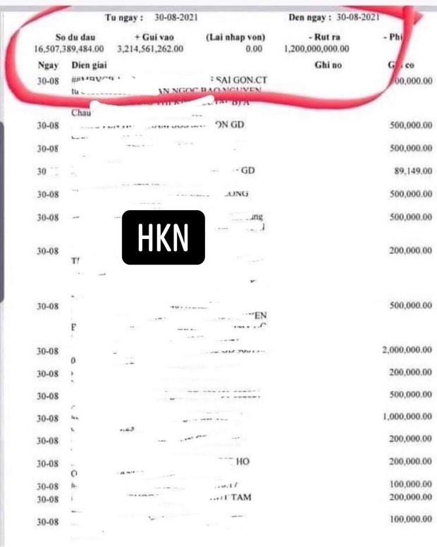 Liên tục livestream thông báo hết quỹ, CĐM bất ngờ soi ra số dư 16 tỷ đồng trong tờ sao kê của Giang Kim Cúc? - Ảnh 1.