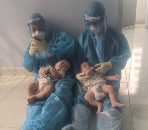 2 trẻ bị bỏ rơi tại bệnh viện bị nhiễm COVID-19 - Ảnh 2.