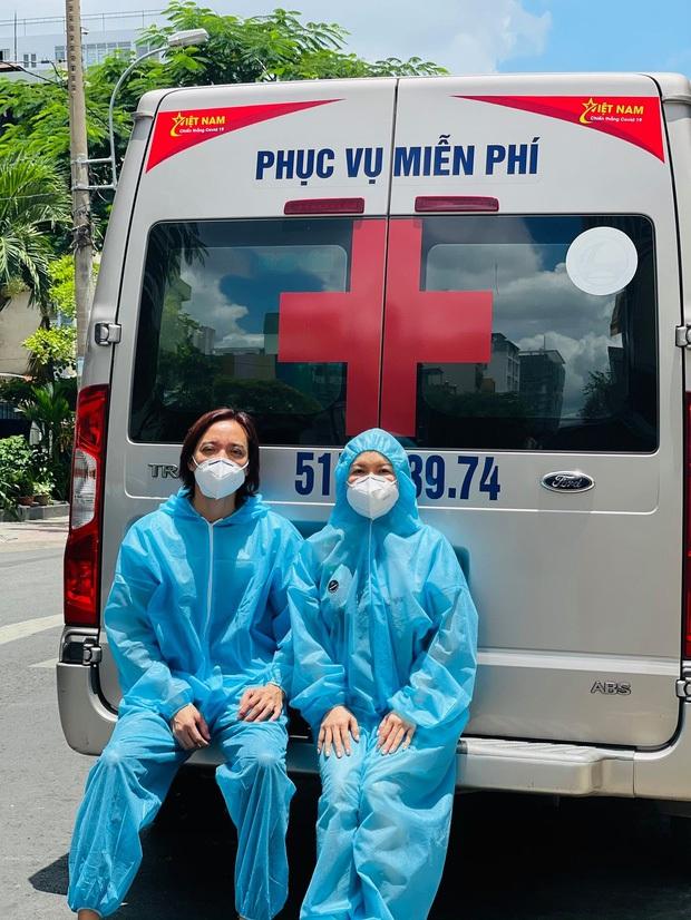 Không kêu gọi quyên góp 1 đồng nào, Việt Hương tiếp tục chi 1 tỷ để làm việc đặc biệt xúc động tặng các bác sĩ tuyến đầu - Ảnh 5.